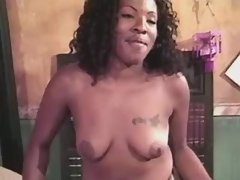 Adventure with sexy black lesbian cutie